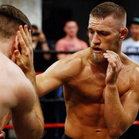 Conor McGregor at Peter Welch's Gym